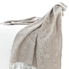 Sarva Paisley Throw