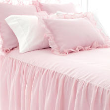 Savannah Linen Gauze Blush Pillowsham Standard