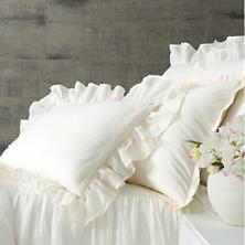 Savannah Linen Gauze Ivory Sham