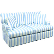 Alex Sky Saybrook 2 Seater Upholstered Sofa