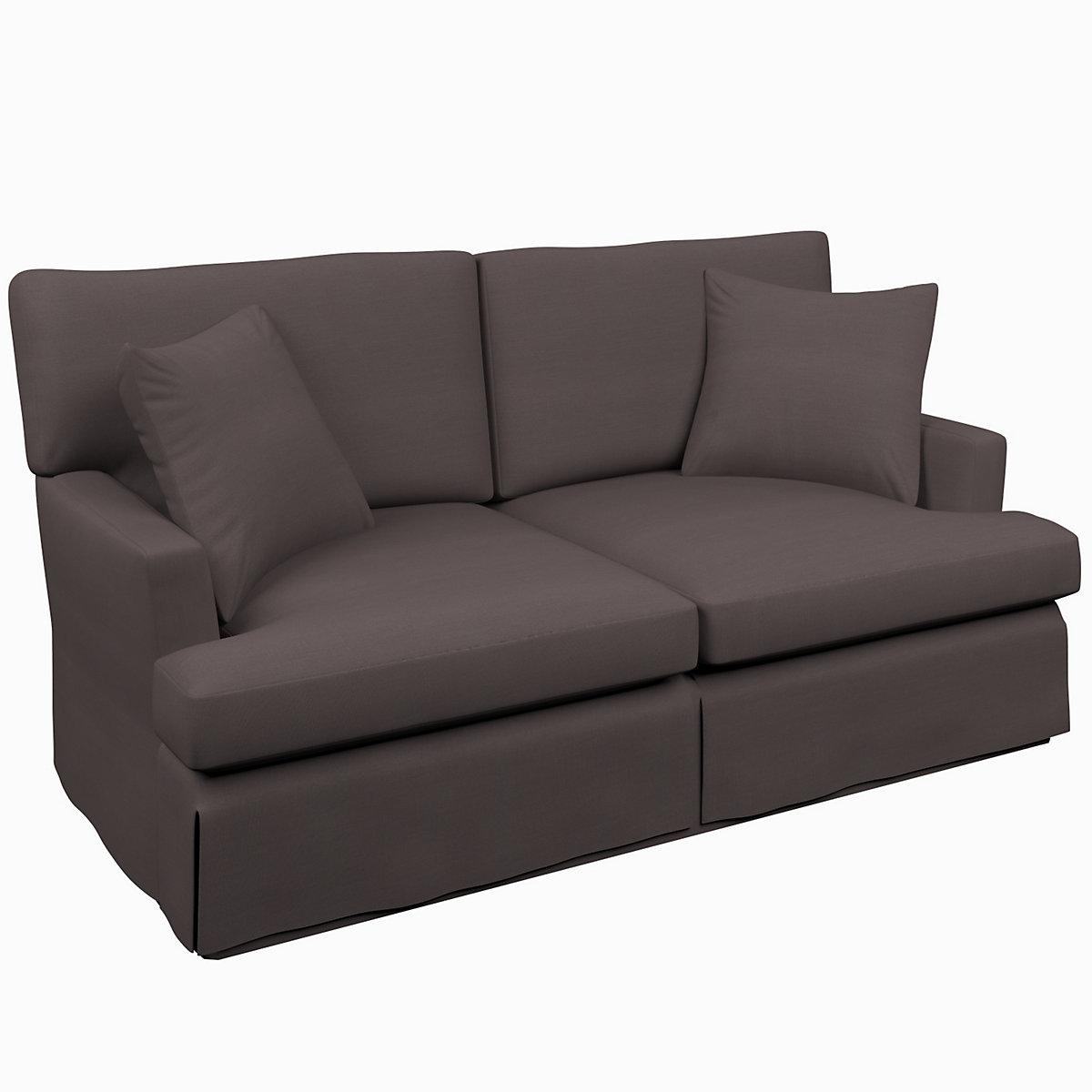 Estate linen shale saybrook 2 seater upholstered sofa for Shale sofa bed
