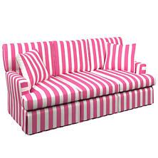 Alex Fuchsia Saybrook 3 Seater Slipcovered Sofa