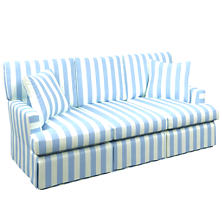 Alex Sky Saybrook 3 Seater Upholstered Sofa