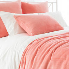 Selke Fleece Coral Blanket