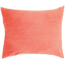 Selke Fleece Coral Decorative Pillow