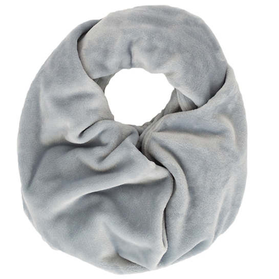 Selke Fleece Dusty Blue Infinity Scarf
