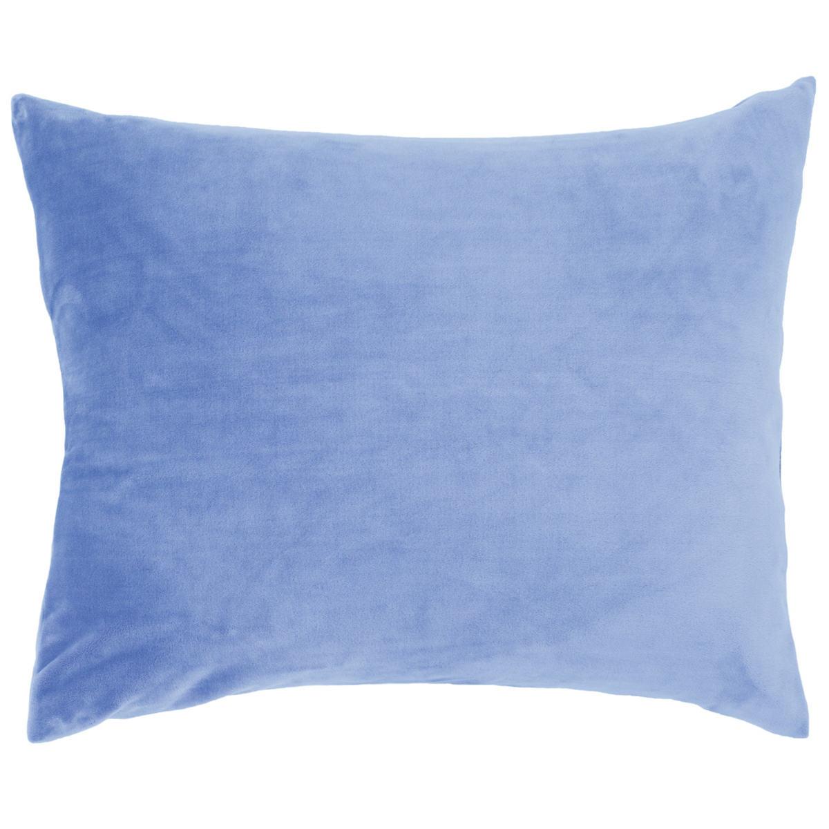 Selke Fleece French Blue Decorative Pillow