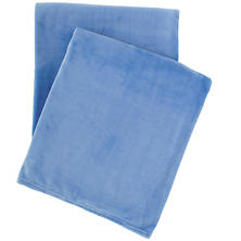 Selke Fleece French Blue Throw