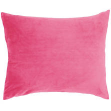 Selke Fleece Fuchsia Decorative Pillow