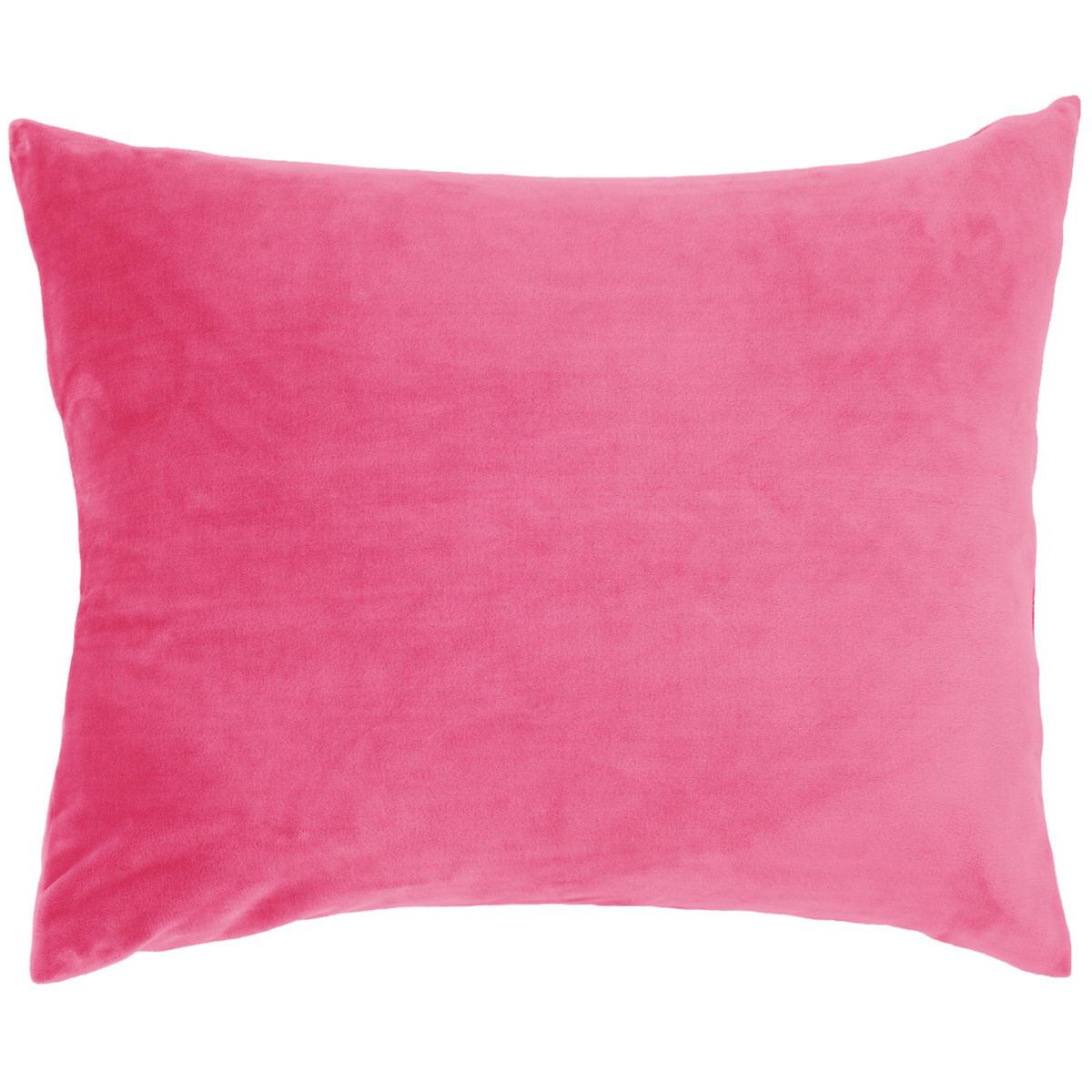 Selke Fleece Fuchsia Decorative Pillow