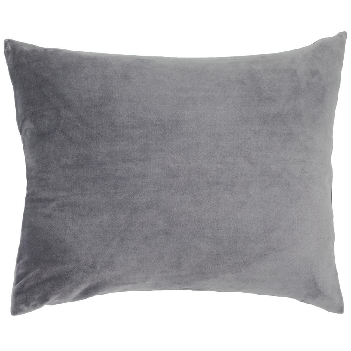 Selke Fleece Greylac Decorative Pillow