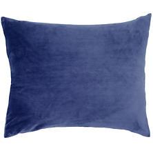 Selke Fleece Indigo Decorative Pillow