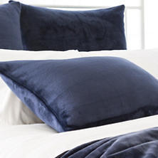 Selke Fleece Indigo Sham