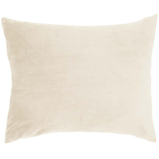 Selke Fleece Ivory Decorative Pillow