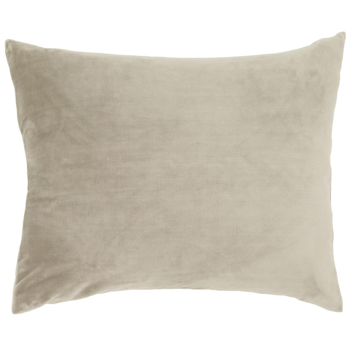 Selke Fleece Linen Decorative Pillow