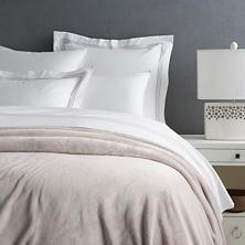 Selke Fleece Pearl Grey Blanket