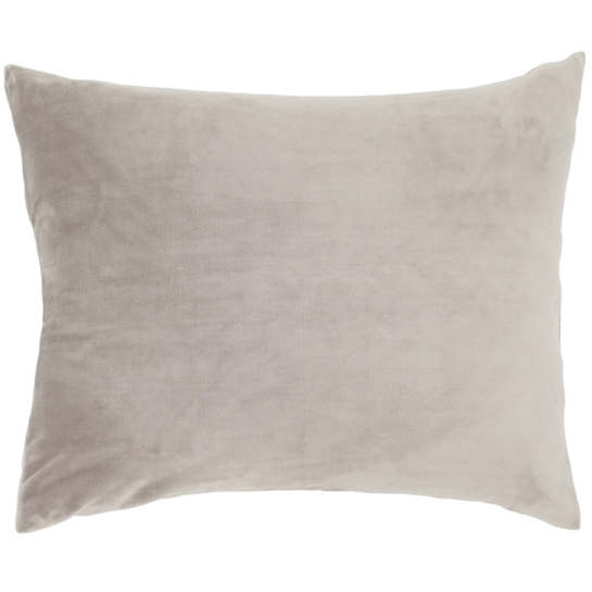 Selke Fleece Pearl Grey Decorative Pillow
