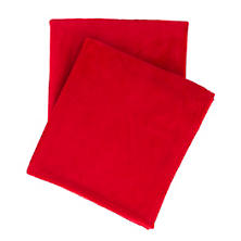 Selke Fleece Red Throw