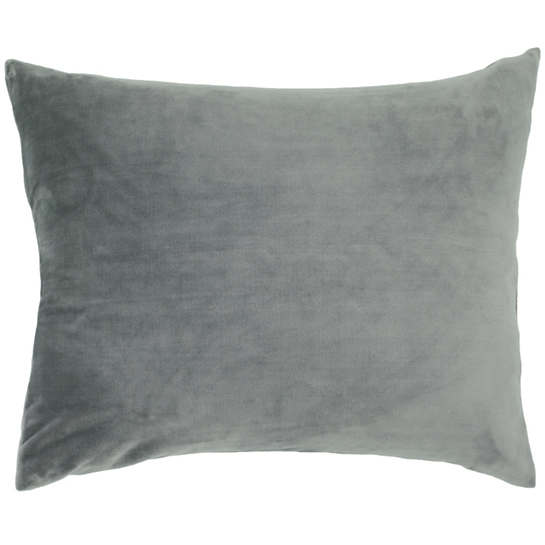 Selke Fleece Shale Decorative Pillow