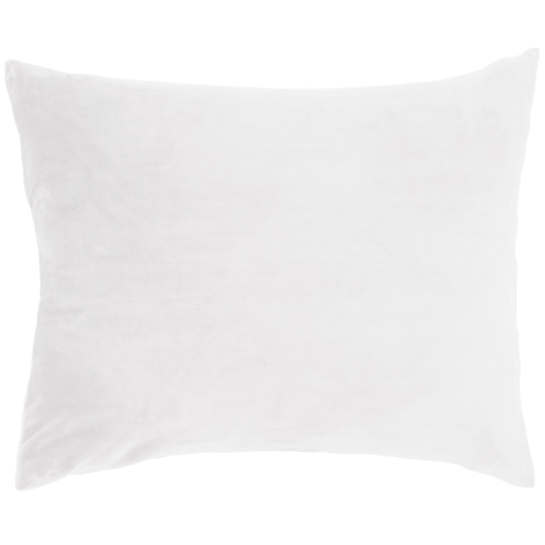 Selke Fleece White Decorative Pillow