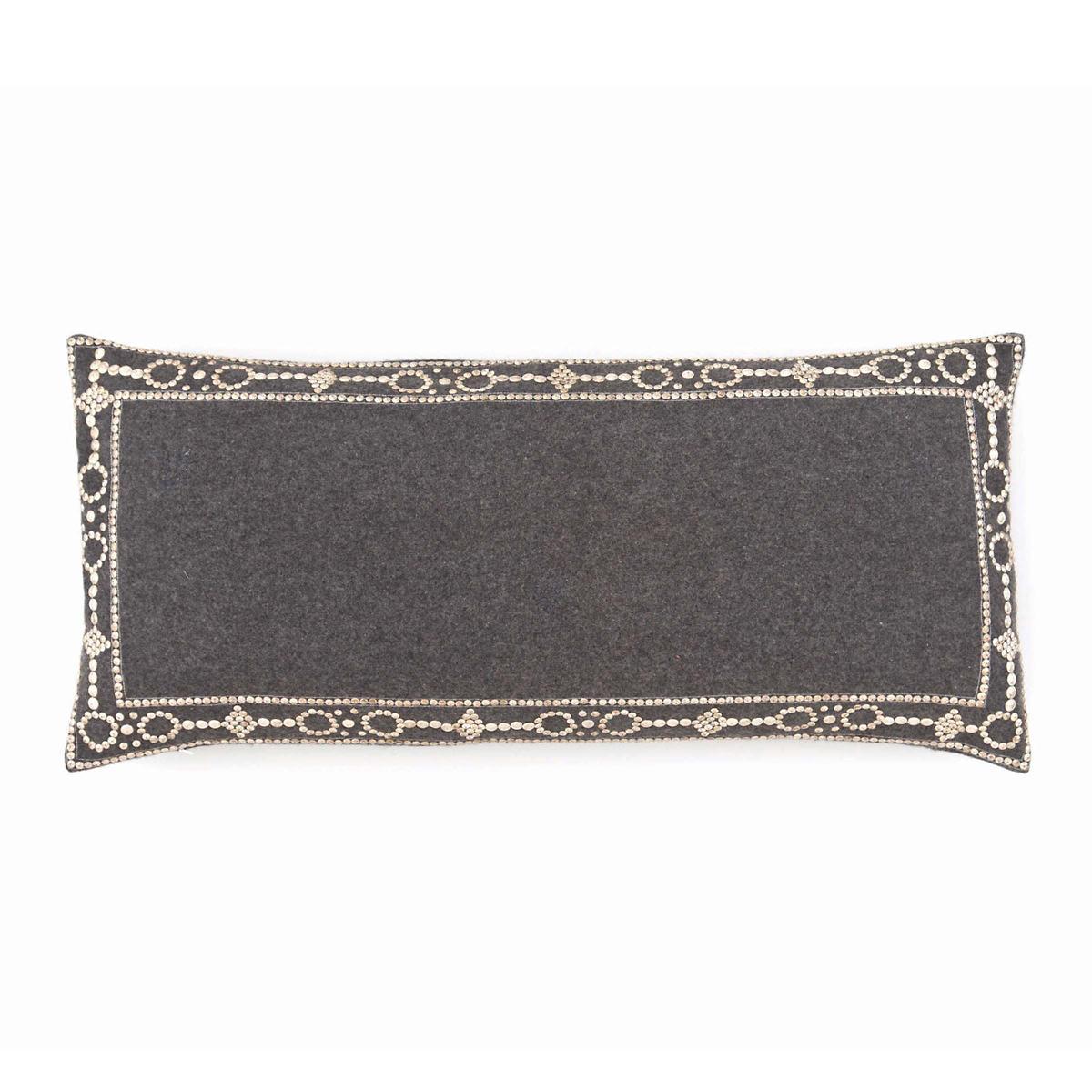 Seville Grey Decorative Pillow