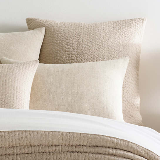 Seychelles Natural Quilted Sham