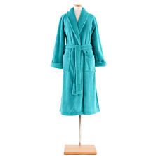 Sheepy Fleece Aqua Robe