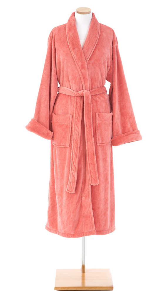 Sheepy Fleece Coral Robe