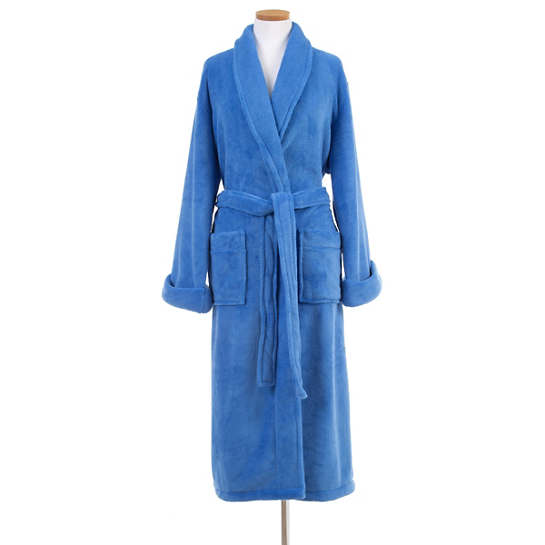 Sheepy Fleece French Blue Robe