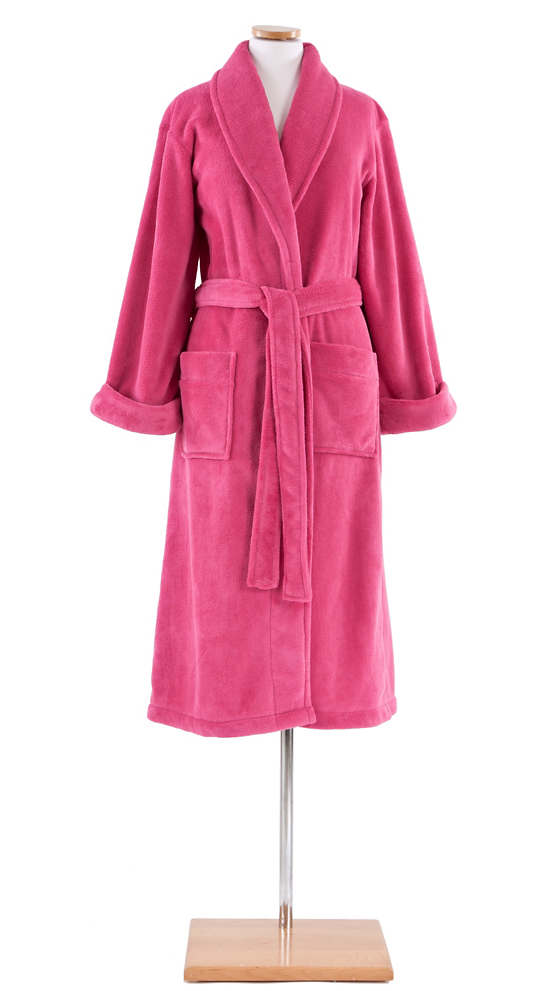 Sheepy Fleece Fuchsia Robe