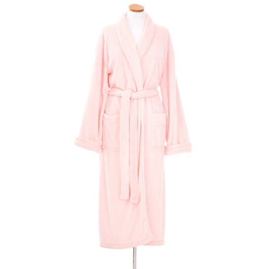 Sheepy Fleece Pale Rose Robe