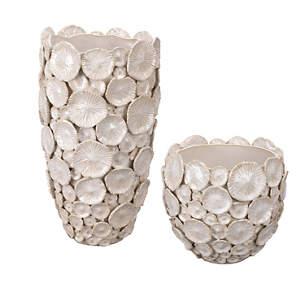 Shella White Vase