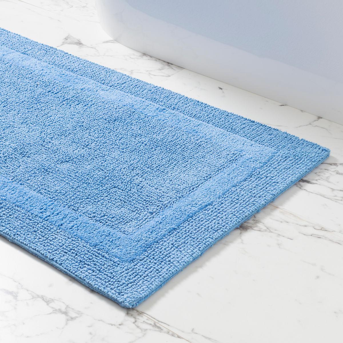 Signature French Blue Bath Rug