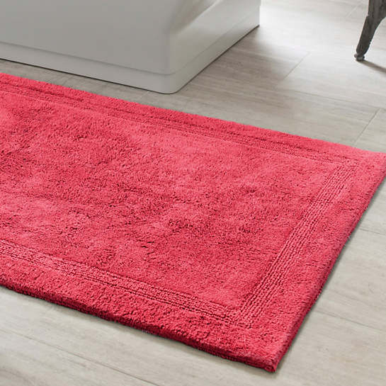 Signature Red Bath Rug