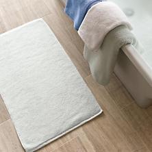 "Signature White Bath Mat 21"" X 34"""