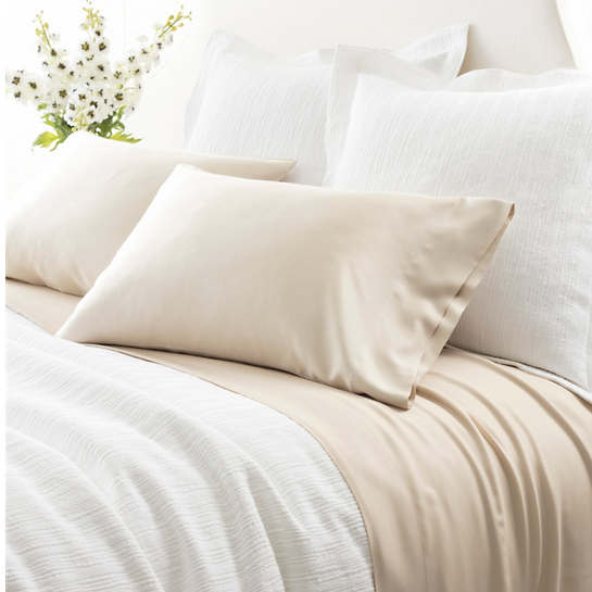 Silken Solid Sand Sheet Set