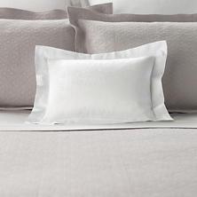 Simone White Decorative Pillow