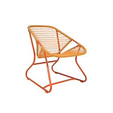 Paprika/Saffron Sixties Low Armchair