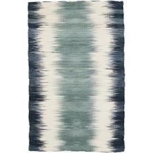 Sombre Kilim Woven Wool Rug