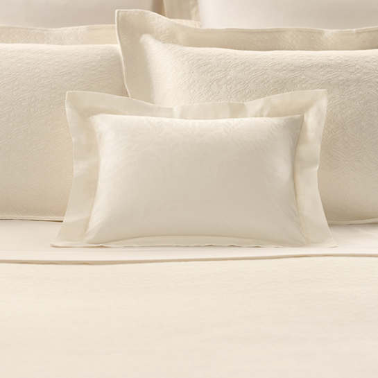Sophia Ivory Decorative Pillow Luxe