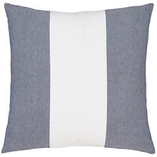 Spinnaker Stripe Indigo Decorative Pillow