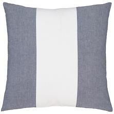 Spinnaker Stripe Indigo Decorative Pillow