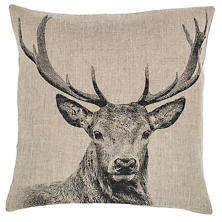 Stag Decorative Pillow