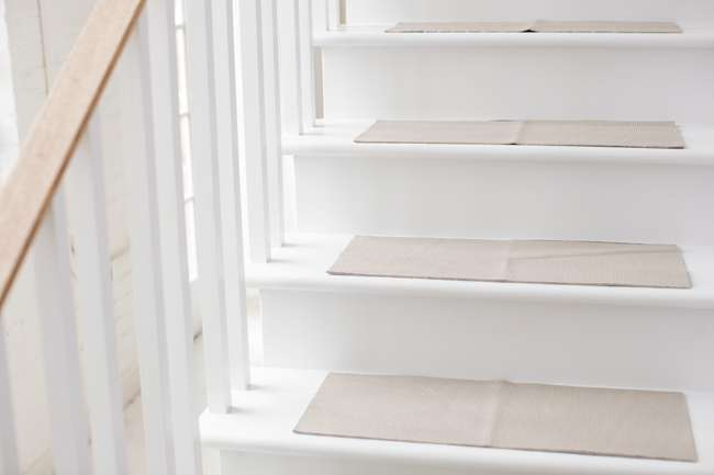 Subtract The Width Of The Runner From The Width Of The Stair Treads; The  Difference Is The Amount Of Space Youu0027ll Leave On Each Side Of The Runner.