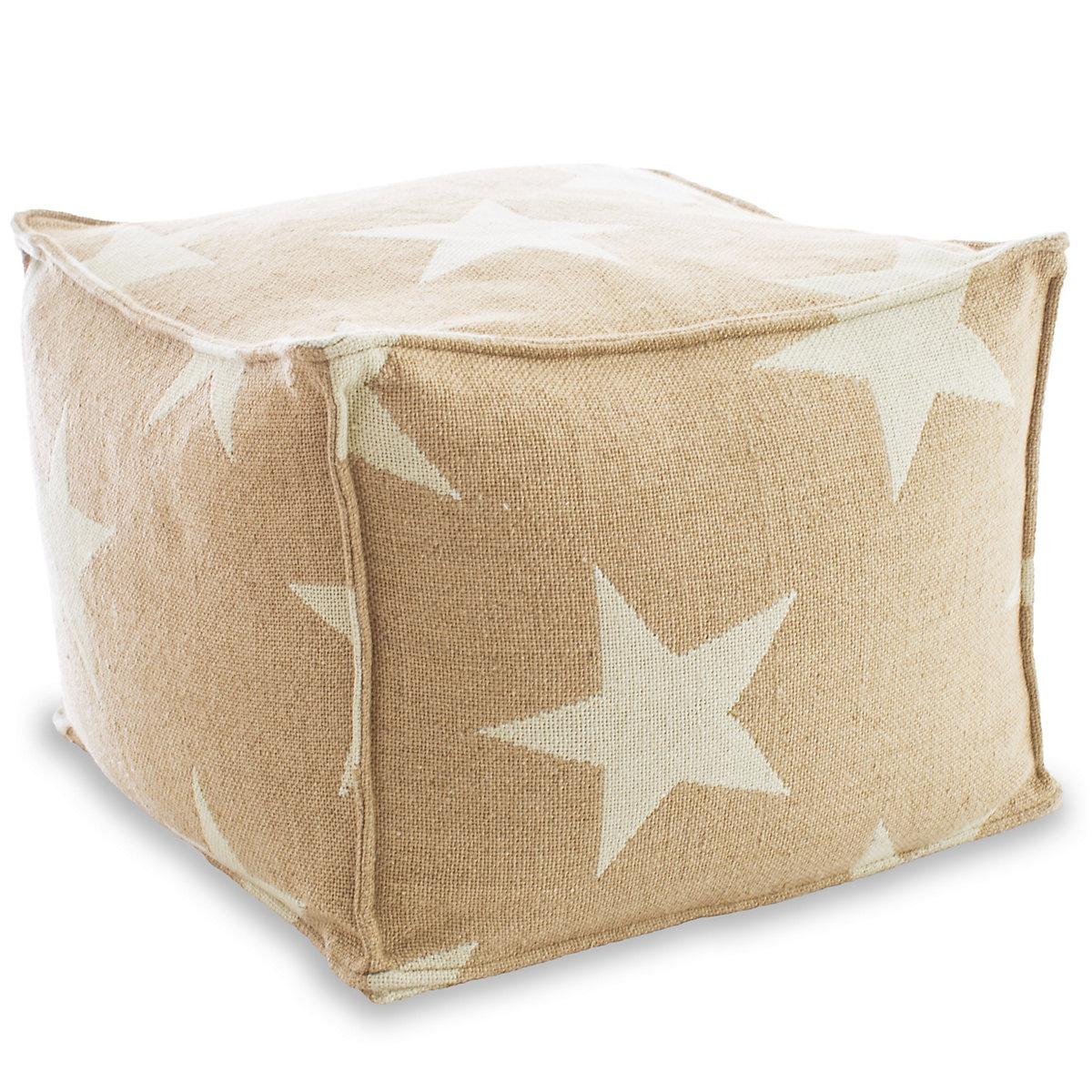 star camelivory pouf