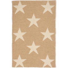 Star Camel/Ivory Indoor/Outdoor Rug