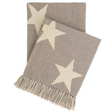 Star Grey/Ivory Indoor/Outdoor Throw