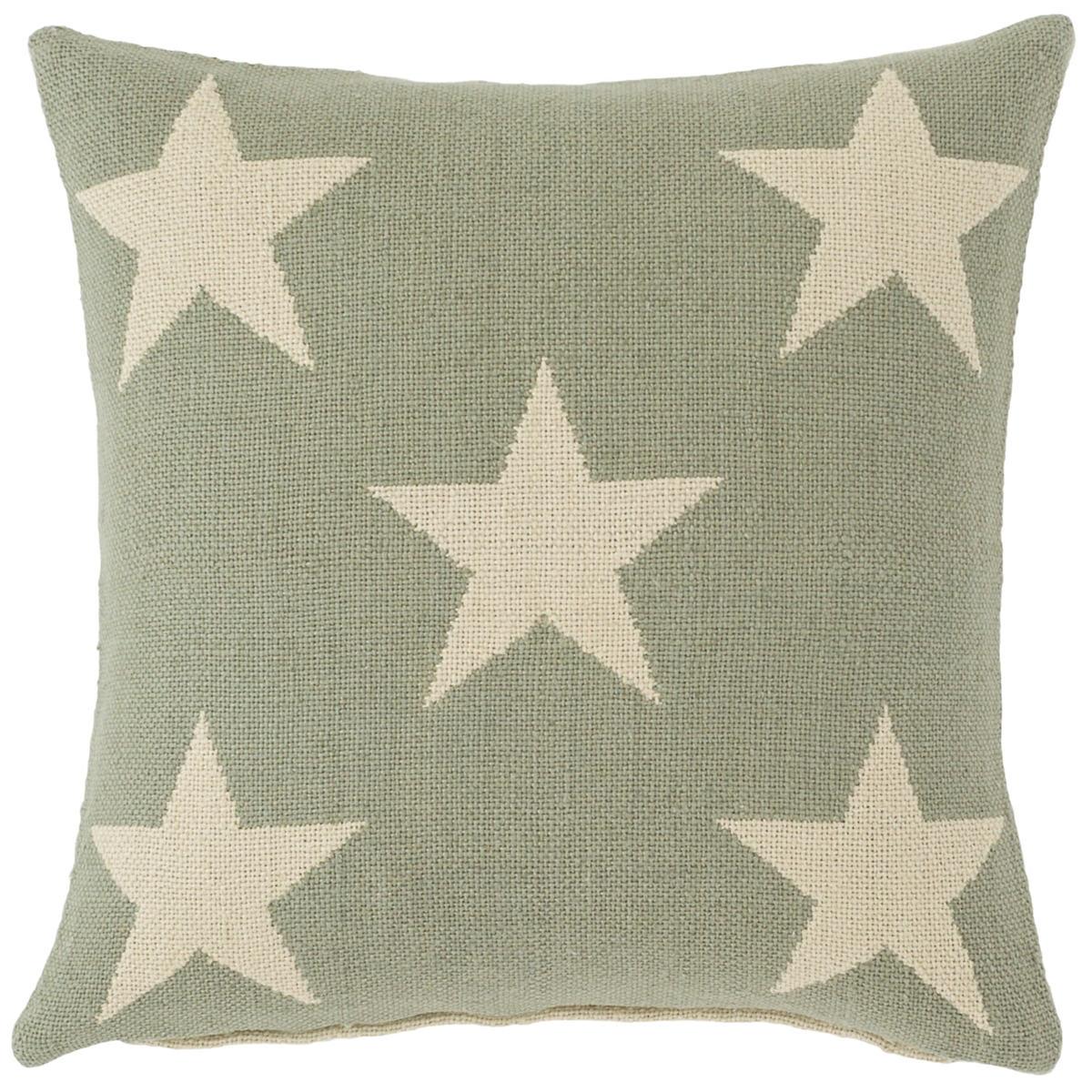 Star Ocean/Ivory Indoor/Outdoor Pillow