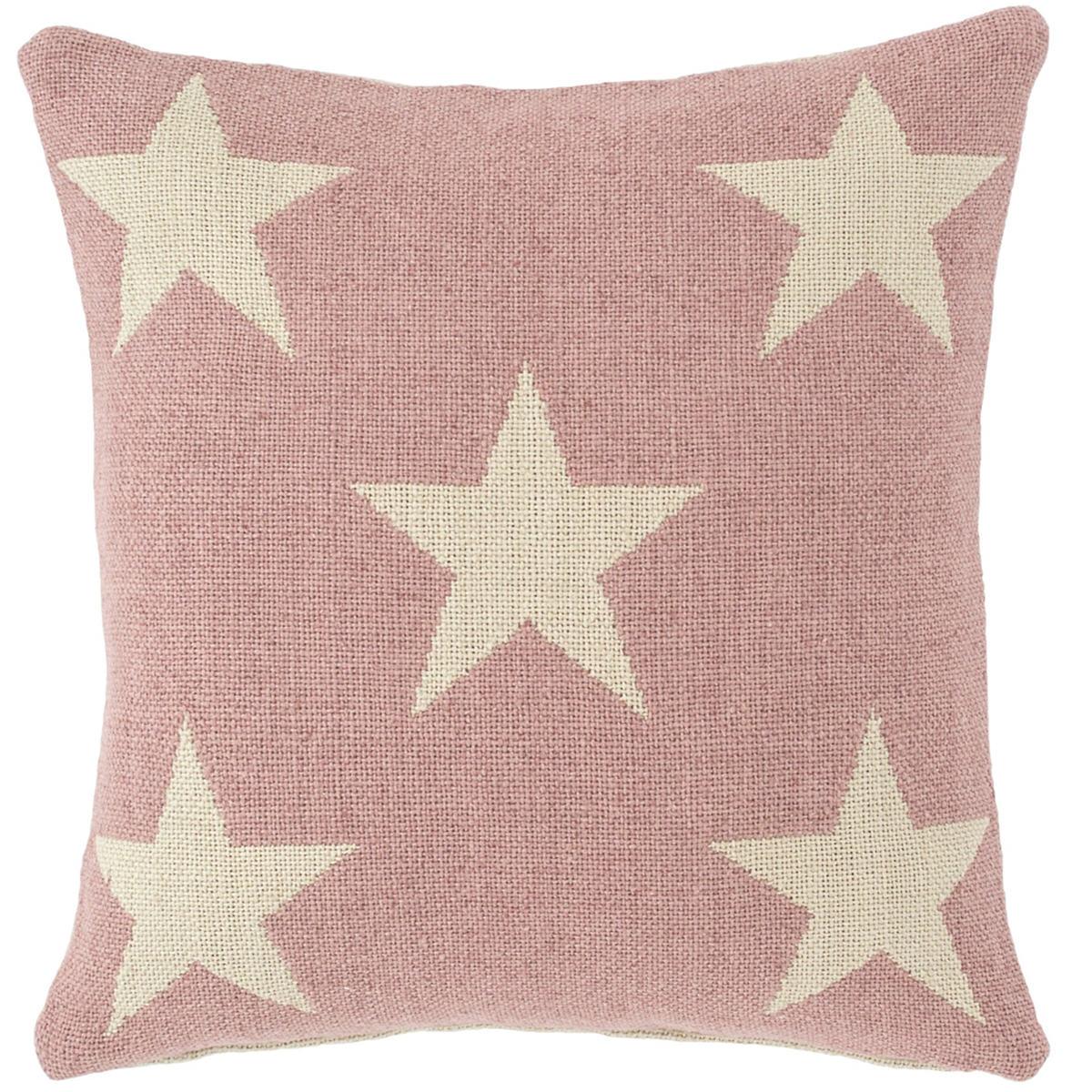 Star Pink/Ivory Indoor/Outdoor Pillow
