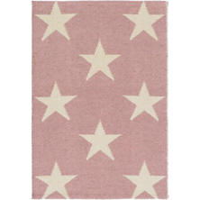 Star Pink/Ivory Indoor/Outdoor Rug